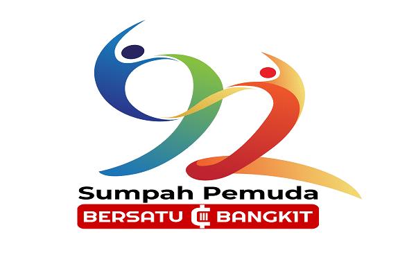 Logo Hari Sumpah Pemuda ke-92 (KalderaNews/ Dok. Kemenpora)