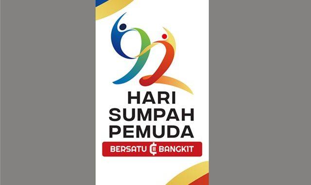Logo peringatan Hari Sumpah Pemuda ke-92 tahun 2020. (KalderaNews.com/Dok.Kemenpora)