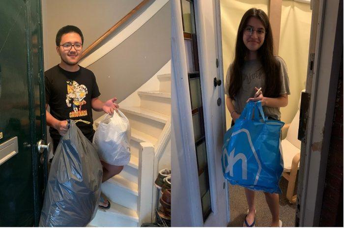 Waste pickup mahasiswa Indonesia di Belanda anggota Perhimpunan Pelajar Indonesia (PPI) Den Haag dalam rangkaian gelaran Fokustik 2020: Plastic War
