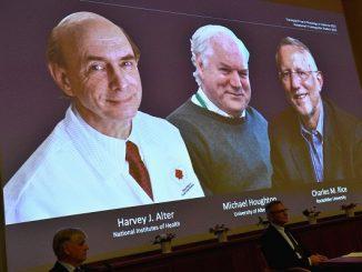 Trio Nobel Kedokteran 2020: Harvey Alter, Charles Rice dan Michael Houghton memenangkan Hadiah Nobel Kedokteran 2020 untuk penemuan terkait virus Hepatitis