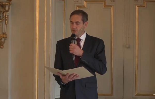 Suasana pengumuman Nobel Sastra 2020 yang diikuti KalderaNews dari channel theguardian