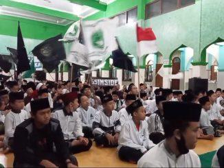 Semarak Peringatan Hari Santri Nasional di Pondok Pesantren Al Ihya Ulumaddin Kesugihan Cilacap, Rabu malam, 21 Oktober 2020