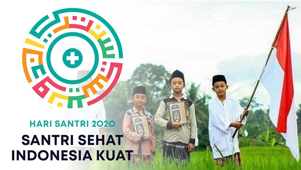 Ilustrasi: Peringatan Hari Santri Nasional 2020. (KalderaNews.com/repro: y.prayogo)