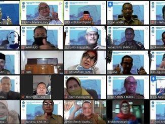 "Para Kepala SMK dari berbagai provinsi di Indonesia mengikuti pelatihan ""Peningkatan Kapabilitas Manajerial"" selama 62 hari bersama RIG CrossComm Binus University"