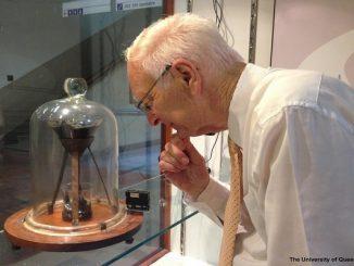 Profesor Fisika, Thomas Parnell, profesor di University of Queensland (KalderaNews/Ist)