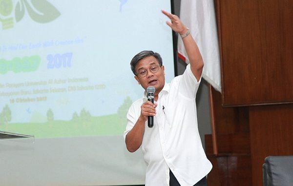 Rektor Universitas Al-Azhar Indonesia sekaligus Anggota meminta kepada pemerintah untuk lebih gencar sosialisasi UU Cipta Kerja kepada pemangku kepentingan (KalderaNews/Dok. UAI)