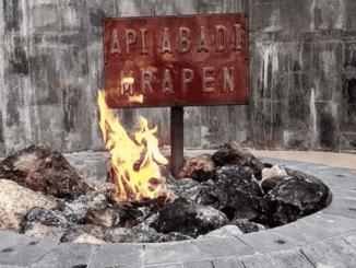 Ilustrasi: Api Abadi Mrapen yang tiba-tiba padam. (KalderaNews.com/Ist.)