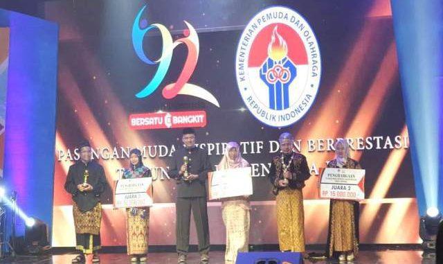 Tiga pasangan suami istri terpilih sebagai Pasangan Muda Inspiratif dan Berprestasi 2020 oleh Kementerian Pemuda dan Olahraga (Kemenpora). (KalderaNews.com/Dok.Kemenpora)
