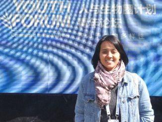 Dosen Bioteknologi Universitas Esa Unggul, Radisti Ayu Praptiwi menjadi salah satu pemenang dalam pemilihan MAB Young Scientists Awards 2020. (KalderaNews.com/Dok.UEU)