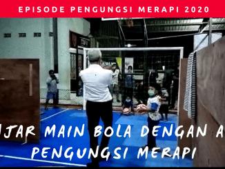 Gubernur Jawa Tengah, Ganjar Pranowo, Pengungsi Merapi di Muntilan,