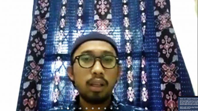 Peneliti Kebijakan Kelautan dan Perikanan Pusat Penelitian Politik LIPI, Anta Maulana Nasution