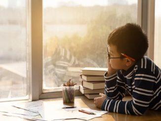 Ilustrasi siswa belajar di rumah (KalderaNews/Ist)