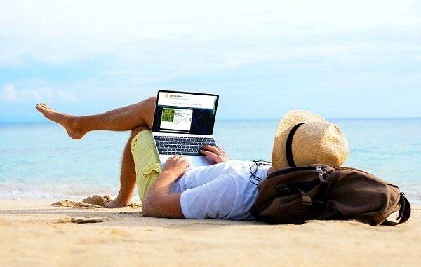 Ilustrasi bersantai ketika pensiun dini. Pikirkan matang-matang sebelum berhenti total bekerja (KalderaNews/Ist)