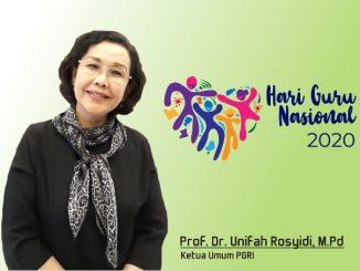 Ketua Umum PGRI, Prof. Dr. Unifah Rosyidi, M.Pd. (KalderaNews.com/repro: y.prayogo)