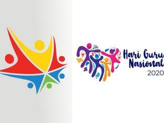 (Kiri) Pemenang Sayembara Logo Hari Guru Nasional 2020 yang dianulir. (Kanan) Pemenang Sayembara Logo Hari Guru Nasional 2020 yang baru. (KalderaNews.com/repro: y.prayogo)