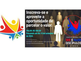 Logo Hari Guru Nasional 2020 yang mirip dengan logo sebuah acara Gereja Metodis Wesley di Brasil. (KalderaNews.com/repro: y.prayogo)