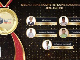 Peraih Medali Emas KSN Jenjang SD Bidang IPA 2020