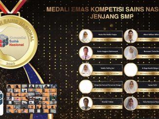 Peraih Medali Emas KSN Jenjang SMP Bidang IPS 2020