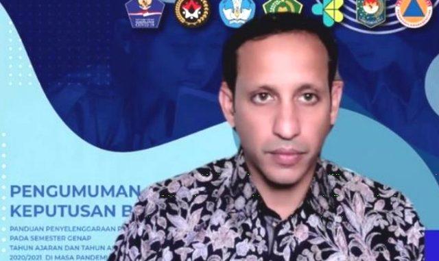 Menteri Pendidikan dan Kebudayaan, Nadiem Anwar Makarim. (KalderaNews.com/Ist.)