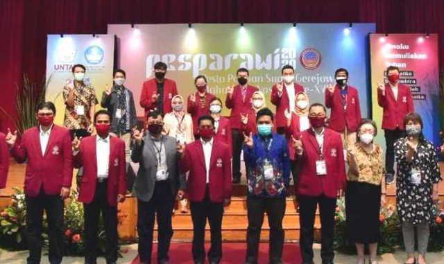 Pembukaan Pesta Paduan Suara Gerejawi (Pesparawi) Mahasiswa Nasional XVI tahun 2020. (KalderaNews.com/Dok.Panitia)