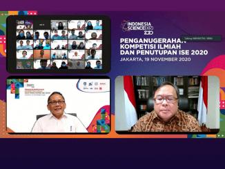 Penganugerahan dan penutupan Indonesia Science Expo (ISE) 2020. (KalderaNews.com/Dok. LIPI)