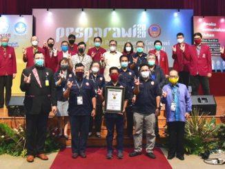 Penutupan Pesta Paduan Suara Gerejawi (Pesparawi) Mahasiswa Nasional 2020. (KalderaNews.com/Dok.Untar)
