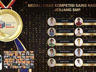 Peraih Medali Emas KSN Jenjang SMP Bidang IPA 2020