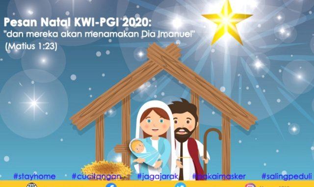 Pesan Natal Bersama 2020. (KalderaNews.com/Ist.)