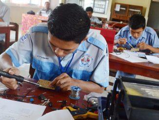 Ilustrasi: Pilihan jurusan kuliah untuk lulusan SMK. (KalderaNews.com/Ist.)