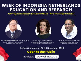 Winner 2020, Week of Indonesia Netherlands Education and Research,
