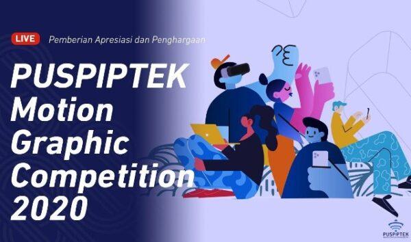 Ilustrasi: Kemenristek-BRIN bersama Pusat Penelitian Ilmu Pengetahuan dan Teknologi (Puspiptek) mengumumkan pemenang Puspiptek Motion Graphic Competition (PMGC) 2020. (KalderaNews,com/Ist.)