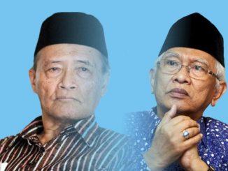 Ahmad Syafii Maarif atau Buya Syafii dan Achmad Mustofa Bisri atau Gus Mus masuk dalam daftar cendekiawan Muslim paling berpengaruh di dunia. (KalderaNews.com/repro: y.prayogo)
