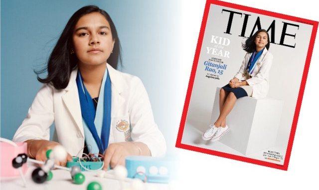 "Gitanjali Rao, ""Kid of the Year"" Pertama Majalah Time. (KalderaNews.com/repro: y.prayogo)"