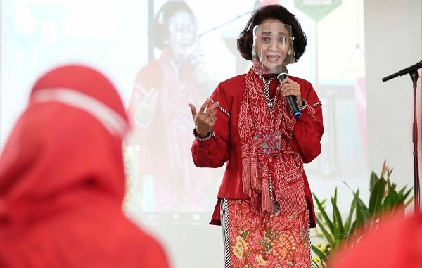 Ketua Konsorsium Pengembangan Kepribadian Indonesia di Kementerian Pendidikan dan Kebudayaan (Kemendikbud) Republik Indonesia (RI), Indah Soekotjo