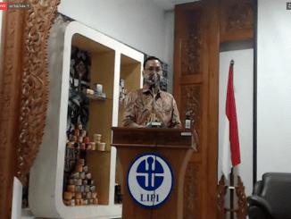 LIPI melakukan kunjungan kerja ke Yogyakarta pada 18 Desember 2020. Kunjungan kerja tersebut dihadiri oleh Menristek untuk membahas pengembangan teknologi pangan (KalderaNews/Dok. Syasa Halima)