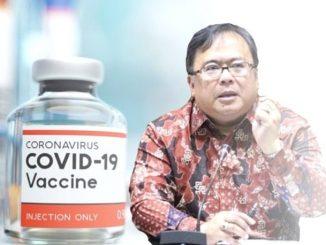 Menteri Riset dan TeknologiKepala Badan Riset dan Inovasi Nasional (MenristekKepala BRIN), Bambang PS Brodjonegoro meresmikan Tim Nasional Percepatan Pengembangan Vaksin Merah-Putih. (KalderaNews.com/repro: y.prayogo)