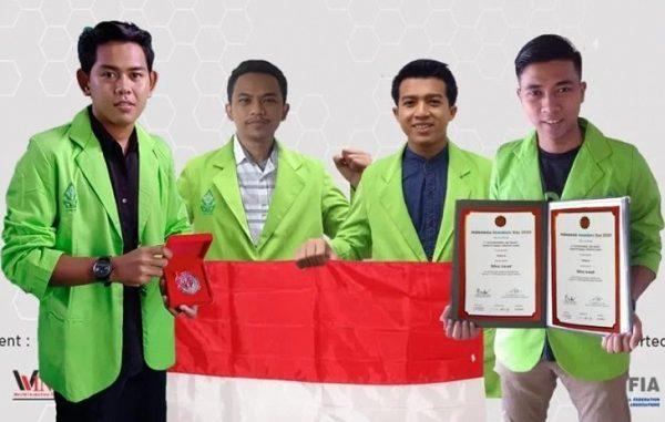 A. Farid Rohmatulloh (Biologi), Agung Dwi Saputro (Fisika), Agus Suprapto (Bahasa Inggris), dan Afrizal Dwi Ananto (Biologi) dari UIN Walisongo Semarang