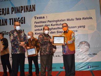 Universitas Islam Malang mempertahankan posisi ke empat dari dari 328 Perguruan Tinggi Swasta (PTS) di bawah Lembaga Layanan Pendidikan Tinggi (LLDIKTI) Wilayah VII Jawa Timur dan di kategori bidang publikasi di urutan ke-3 tahun 2020 (KalderaNews/Dok. Unisma)