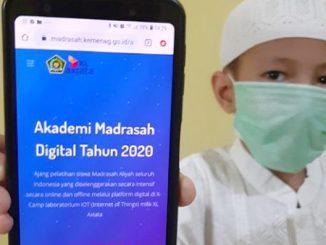 Ilustrasi: Akademi Madrasah Digital atau AMD 2020. (KalderaNews.com/Ist.)