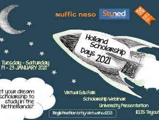 Virtual Holland Scholarship Day (HSD) 19-23 Januari 2021