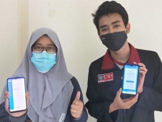 Mahasiswa UMM membuat aplikasi untuk pengaduan masyarakat. (KalderaNews.com/Dok.UMM)