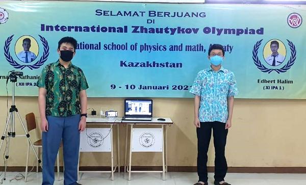 Pelajar Indonesia berhasil meraih 8 medali di olimpiade sains internasional. (KalderaNews.com/Ist.)