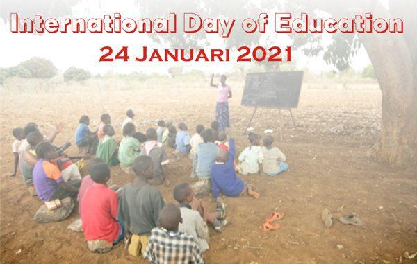 Ilustrasi: Peringatan Hari Pendidikan Internasional 2021. (KalderaNews.com/repro: y.prayogo)