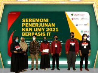 Universitas Muhammadiyah Yogyakarta menerjunkan sejumlah 2500 mahasiswa Kuliah Kerja Nyata (KKN) Reguler IT Berbasis Komunitas. (KalderaNews.com/Dok. UMY)