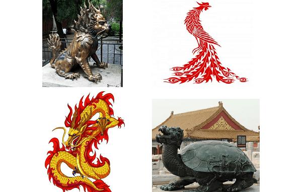 Empat Dewa Simbol Keberuntungan Tiongkok