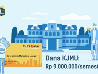 Ilustrasi Karu Jakarta Mahasiswa Unggul (KJMU) (KalderaNews.com/Instagram @disdikdki)