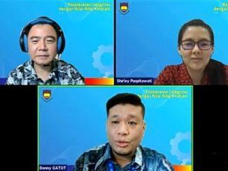"""Webinar """"Keselarasan Integritas dengan Nilai-Nilai Kristiani"""" untuk tenaga pendidik dan kependidikan BPK PENABUR Jakarta, Rabu, 10 Februari 2021"""