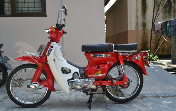 Ilustrasi Motor Antik (KalderaNews.com/Ist)