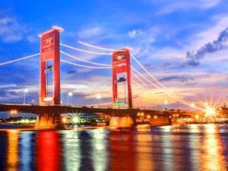 Ilustrasi: Jembatan Ampera Palembang. (KalderaNews.com/Ist.).