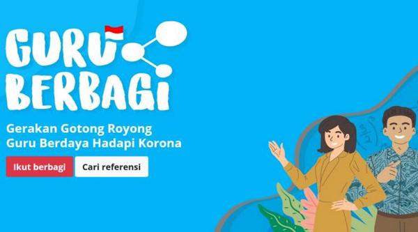 Ilustrasi: Laman Guru Berbagi Kemendikbud. (KalderaNews.com/Ist.)
